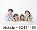 家族 ファミリー 4人の写真 32454480