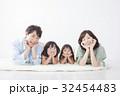 家族 ファミリー 4人の写真 32454483
