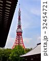 東京タワーと増上寺 32454721