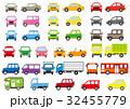 車 自動車 カラフルのイラスト 32455779