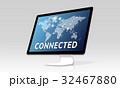 通信 コンピュータ コンピューターのイラスト 32467880