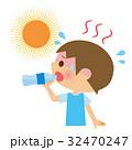 熱中症 水分補給 子供 32470247