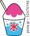 かき氷(いちご) 32470746