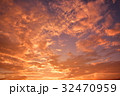 空 夕焼け 夕景の写真 32470959