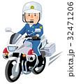 いろいろな職業 警察 白バイ 32471206