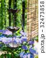鎖樋と簾 32473858