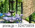 鎖樋と簾 32473859