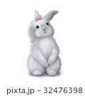 Cute easter bunny rabbit girl 32476398