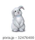 Cute easter bunny rabbit boy 32476400