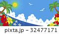カモメ 海 夏のイラスト 32477171