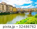 フィレンツェ 世界遺産 ヴェッキオ橋の写真 32486762