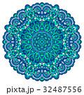 Flower Mandala. Abstract element for design 32487556