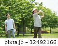ゴルフ ミドル 夫婦 スポーツ ゴルフ場 イメージ 32492166