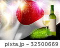 ワイン 白ワイン 国旗のイラスト 32500669