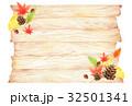 秋 木目 背景のイラスト 32501341