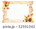 秋 木目 背景のイラスト 32501342