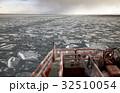 流氷 オホーツク海 冬の写真 32510054