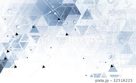 Digital technology world. Business virtual concept 32516225