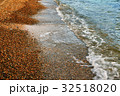 Edge of sea and sand beach 32518020