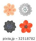 水彩画 フラワー 花のイラスト 32518782
