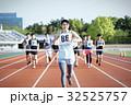 マラソン大会 ゴール 32525757