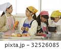 林間学校 料理する小学生 32526085