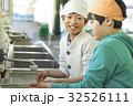 林間学校 手を洗う小学生 32526111