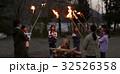 林間学校 キャンプファイヤー 32526358