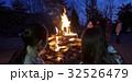 林間学校 キャンプファイヤー 32526479