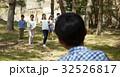 林間学校 遊んでいる小学生 32526817