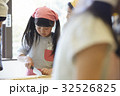林間学校 料理する小学生 32526825