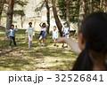 林間学校 遊んでいる小学生 32526841