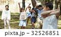 林間学校 遊んでいる小学生 32526851