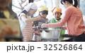 林間学校 料理する小学生 32526864