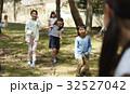 林間学校 遊んでいる小学生 32527042