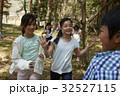 林間学校 遊んでいる小学生 32527115