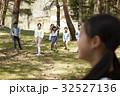 林間学校 遊んでいる小学生 32527136