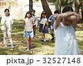 林間学校 遊んでいる小学生 32527148