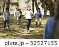 林間学校 遊んでいる小学生 32527155
