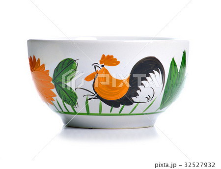 bowl isolated on white backgroundの写真素材 [32527932] - PIXTA