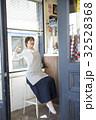 人物 女性 カフェの写真 32528368