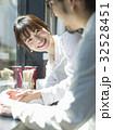 人物 女性 カフェの写真 32528451