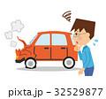 自動車事故 男性 32529877