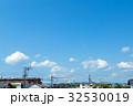 空 青空 雲の写真 32530019