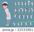 flat type Nurse wear woman_2 32533961