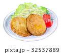 水彩イラスト 食品 コロッケ 32537889