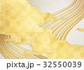 金 雲 背景素材のイラスト 32550039