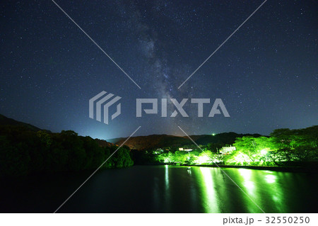 7月の天の川 permingM160721 季節の写真素材  32550250