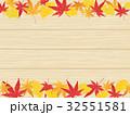 紅葉 フレーム 枠のイラスト 32551581
