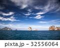 limestone formations in the Adaman sea, Thailand 32556064